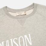 Maison Kitsune Palais Royal Men's Sweatshirt Grey Melange photo- 1