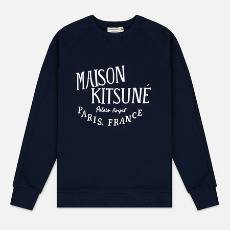Maison Kitsune Palais Royal Men's Sweatshirt Navy
