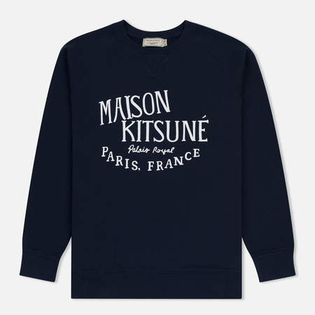 Мужская толстовка Maison Kitsune Palais Royal Navy