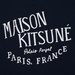 Мужская толстовка Maison Kitsune Palais Royal Navy фото- 2
