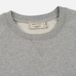 Мужская толстовка Maison Kitsune Tricolor Fox Patch Grey Melange фото- 1
