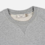 Maison Kitsune Tricolor Patch Men's Sweatshirt Grey Melange photo- 1