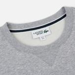 Мужская толстовка Lacoste Sport Crew Neck Solid Fleece Silver Grey Chine фото- 1