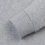Мужская толстовка Lacoste Sport Crew Neck Solid Fleece Silver Grey Chine фото- 3