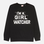 Мужская толстовка Levi's Vintage Clothing I'm a Girl Watcher Black фото- 0
