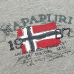Napapijri Barcus Summer Men's Hoody Grey Melange photo- 2