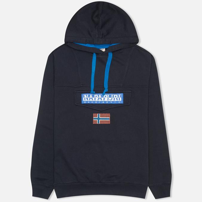 Napapijri Burgee Neogeo Men's Hoody Blue Marine