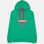 Napapijri Burgee Neogeo Men's Hoody Green photo- 0