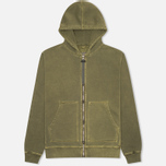 Мужская толстовка Nemen Basic Full Zip Military Green фото- 0