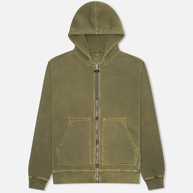 Nemen Basic Full Zip Men's Hoody Military Green