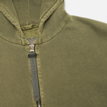 Nemen Basic Full Zip Men's Hoody Military Green photo- 1