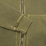 Nemen Basic Full Zip Men's Hoody Military Green photo- 2