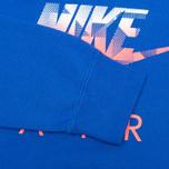 Мужская толстовка Nike AW77 FLC Crew Hybrid Blue фото- 3