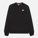 Nike AW77 French Terry Crew Men's Sweatshirt Black photo- 0