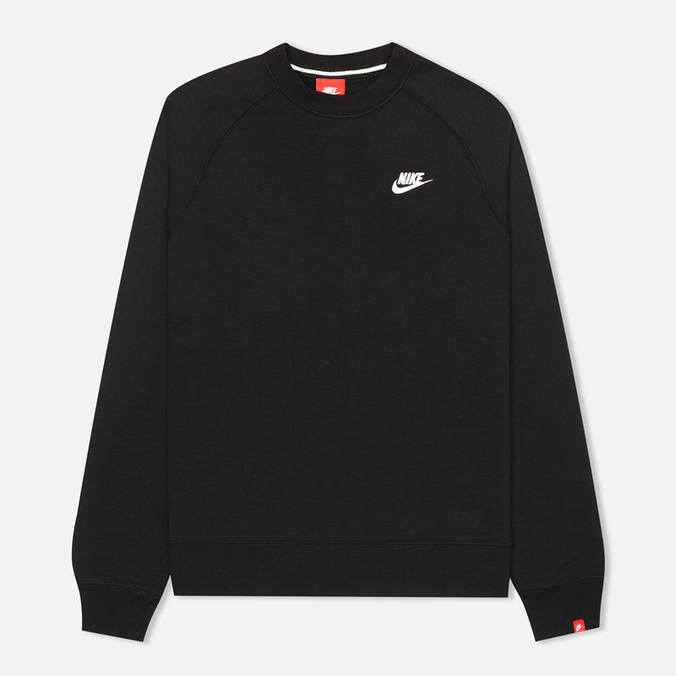 Nike AW77 French Terry Crew Men's Sweatshirt Black