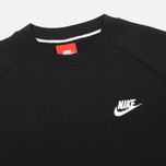 Nike AW77 French Terry Crew Men's Sweatshirt Black photo- 1