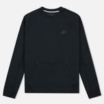 Мужская толстовка Nike Tech Fleece Crew Black фото- 0