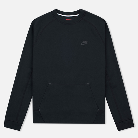 Nike Tech Fleece Crew Men's Sweatshirt Black