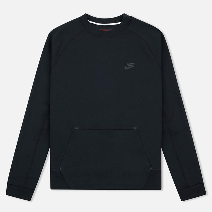 Мужская толстовка Nike Tech Fleece Crew Black