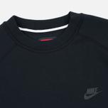 Мужская толстовка Nike Tech Fleece Crew Black фото- 1