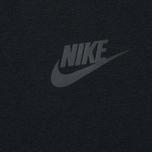 Мужская толстовка Nike Tech Fleece Crew Black фото- 2