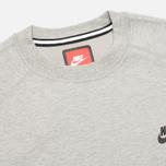 Мужская толстовка Nike Tech Fleece Crew Grey фото- 1