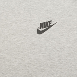 Мужская толстовка Nike Tech Fleece Crew Grey фото- 2