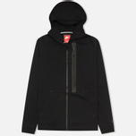 Мужская толстовка Nike Tech Fleece Full Zip Black фото- 0