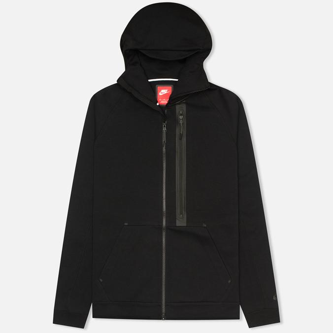 Мужская толстовка Nike Tech Fleece Full Zip Black