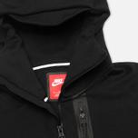 Мужская толстовка Nike Tech Fleece Full Zip Black фото- 2