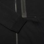 Мужская толстовка Nike Tech Fleece Full Zip Black фото- 3