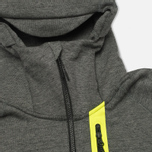 Мужская толстовка Nike Tech Fleece Full Zip Tumbled Grey/Black/Heather фото- 1
