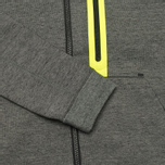 Мужская толстовка Nike Tech Fleece Full Zip Tumbled Grey/Black/Heather фото- 3