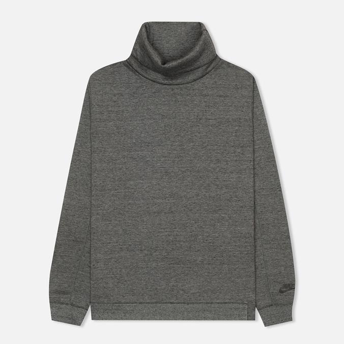 Мужская толстовка Nike Tech Fleece Funnel Grey