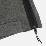 Мужская толстовка Nike Tech Fleece Funnel Grey фото- 4