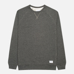 Мужская толстовка Norse Projects Ketel Crew Charcoal Melange фото- 0