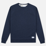 Мужская толстовка Norse Projects Ketel Crew Navy фото- 0