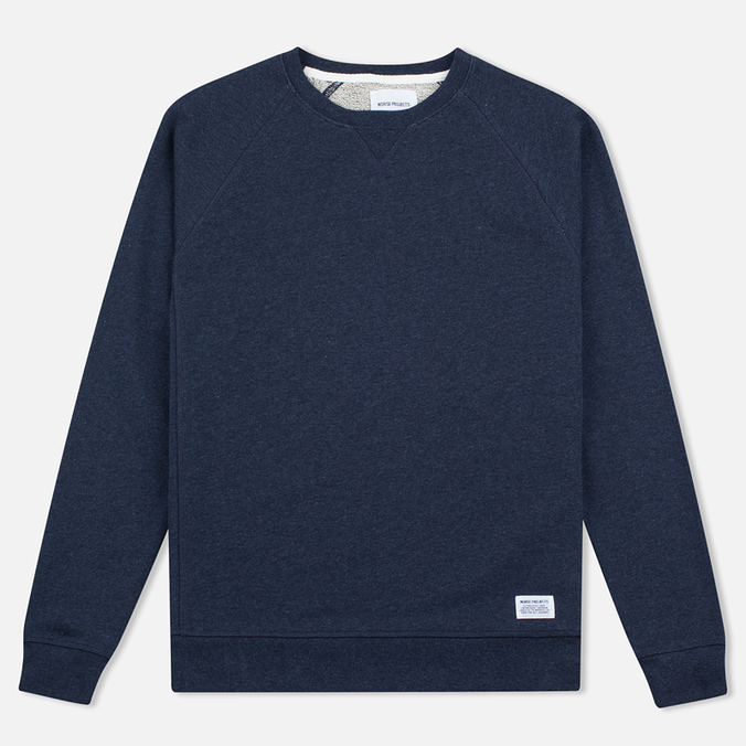 Мужская толстовка Norse Projects Ketel Crew Navy