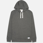 Мужская толстовка Norse Projects Ketel Hood Charcoal Melange фото- 0