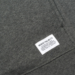 Мужская толстовка Norse Projects Ketel Hood Charcoal Melange фото- 2