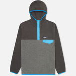 Мужская толстовка Patagonia Synchilla Snap-T Nickel/Forge Grey фото- 0