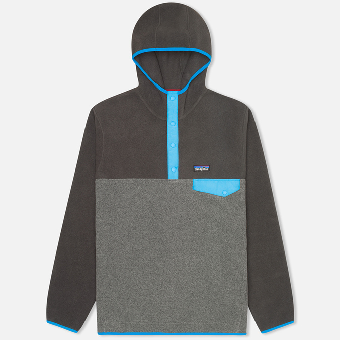 Мужская толстовка Patagonia Synchilla Snap-T Nickel/Forge Grey