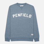 Мужская толстовка Penfield Brookport Sea Blue Melange фото- 0