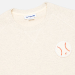 Reebok x Maison Kitsune Baseball Crew Men's Sweatshirt CWhite photo- 1