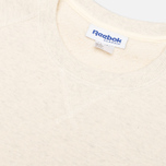 Reebok x Maison Kitsune Baseball Crew Men's Sweatshirt CWhite photo- 4
