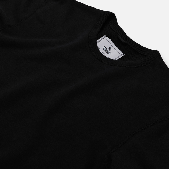 Мужская толстовка Reigning Champ Crew Neck Midweight Twill Terry Black