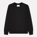 Мужская толстовка Reigning Champ Crew Neck Midweight Twill Terry Black фото- 0