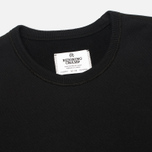 Мужская толстовка Reigning Champ Crew Neck Midweight Twill Terry Black фото- 1