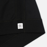 Мужская толстовка Reigning Champ Crew Neck Midweight Twill Terry Black фото- 3