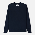 Мужская толстовка Reigning Champ Crew Neck Midweight Twill Terry Navy фото- 0
